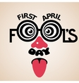 First April Fools day vector image vector image