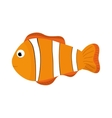 fish sea life animal icon graphic vector image vector image