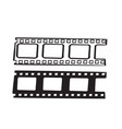 hand drawn doodle film strip icon isolated vector image vector image