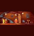 medieval torture hall room of executioner vector image vector image