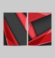 modern templates vector image vector image