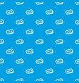 ticket pattern seamless blue vector image vector image