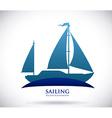 boat design vector image