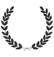 A laurel wreath - symbol of victory and vector image vector image