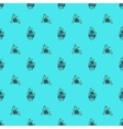 Blue berries seamless pattern vector image vector image