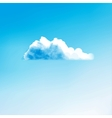 Cloud creative vector image vector image