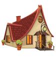 Fantasy House vector image vector image