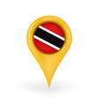 Location Trinidad and Tobago vector image vector image