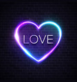 love background neon lights sign design vector image vector image