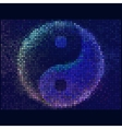 Ying yang symbol of harmony and balance Abstract vector image