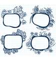 abstract frames vector image vector image