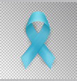 blue ribbon isolated on background prostat vector image vector image