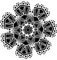 Ornamental geometric pattern vector image vector image