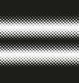 halftone black and white seamless pattern vector image