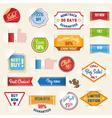 sale labels set2 vector image