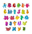 abc funny alphabet characters alive letters