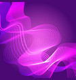abstract colorful waves waved lines background vector image