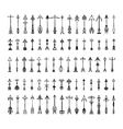 collection of cute hand vector image vector image