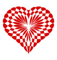 concept heart icon simple style vector image vector image
