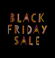 doodle black friday sale banner kids vector image