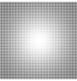 Halftone pattern background texture vector image vector image