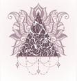lotus logo templates vector image vector image