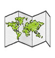 map icon image vector image vector image