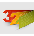 One two thre - progress background vector image vector image