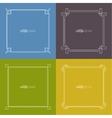 set frame vector image vector image