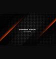 abstract carbon fiber texture dark black vector image