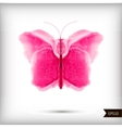 abstract watercolor butterfly vector image vector image