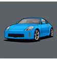 car color 3 vector image