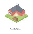 farm building vector image