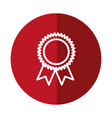 medal icon image vector image vector image