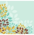 Natural abstract background with branches of vector image vector image
