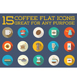 Set of Coffee Elements and Coffee Accessories can vector image vector image