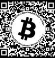 bitcoin physical bit coin vector image