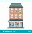 Book store vector image