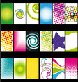 Business acrds set VI vector image vector image