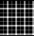 classic monochrome pixel tartan seamless pattern vector image vector image