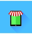 Mobile Store Icon vector image