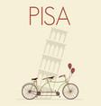 Pisa vector image