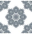 seamless background east ornament vector image vector image