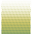 seamless lime green polka dots pattern texture vector image