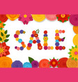 season sale banner template vector image vector image