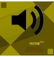 Speaker Flat modern web design on a flat geometric vector image