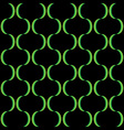 Abstract Green Stripe Curve Seamless Pattern vector image vector image