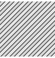 black white classic striped pattern vector image vector image
