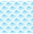 Blue retro fish scales seamless pattern vector image
