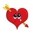 Cartoon heart vector image